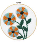 Modern Floral Punch Needle Kit