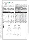 Mccall Pattern V8622 Z (Lrg-Xlg-Vogue Pattern