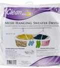 Innovative Home Creations Jumbo Mesh Hanging Sweater Dryer-White