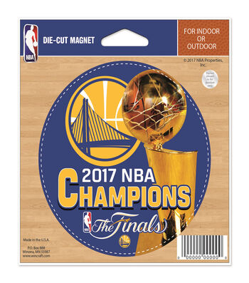 Golden State Warriors Championship Magnet