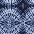 Anti-Pill Plush Fleece Fabric-Tonal Navy Tie Dye