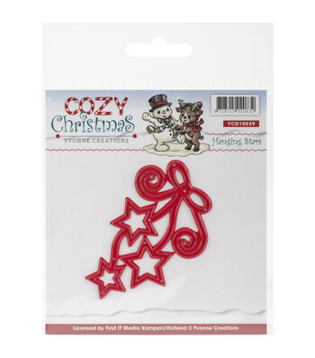 Yvonne Creations Cozy Christmas Die-Hanging Stars