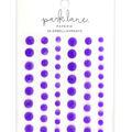 Park Lane Paperie 56 pk Bling Embellishments-Neon Purple