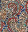 P/K Lifestyles Upholstery Fabric 54\u0022-Vintage Blend/Royal