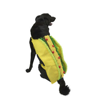 Maker's Halloween Pet Costume-Taco Large