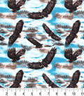 Novelty Cotton Fabric-Flying Eagles