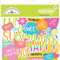 Doodlebug Design Sweet Summer Chit Chat 92 pk Die-Cuts