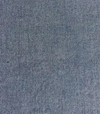 Denim Chambray Fabric 57''-Dark Wash