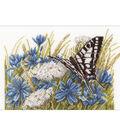LanArte 11.5\u0027\u0027x7.5\u0027\u0027 Cotton Counted Cross Stitch Kit-Swallowtail