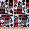 Marvel Spider-Man Cotton Fabric-Spider-Verse Comic