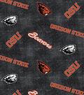 Oregon State University Beavers Flannel Fabric 42\u0022-Distressed Logo
