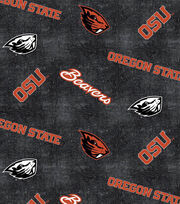"Oregon State University Beavers Flannel Fabric 42""-Distressed Logo, , hi-res"