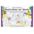 Write On/Wipe Off: Read & Write First Words Manipulative