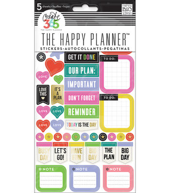 The Happy Planner Stickers-Everyday Reminders