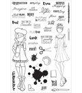 Planner Clear Stamps 4\u0022X6\u0022-Craft Day