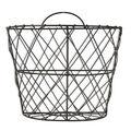 Diamond Patterned Wire Basket Wall Decor