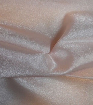 Casa Collection Crepe Fabric -Sheer Rosewater