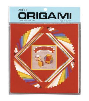 Aitoh Asst Size Origami Paper 60/Pkg