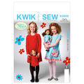 Kwik Sew Girls Dress-K3959