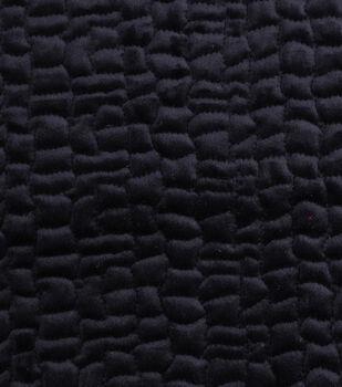"""Cobbled Velvet Fabric 53""""-Solids"""
