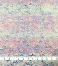 Knit Prints Rayon Spandex Fabric-Lilac Foil Abstract