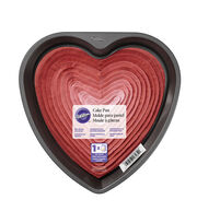 "Wilton 9"" Non-Stick Cake Pan-Heart, , hi-res"