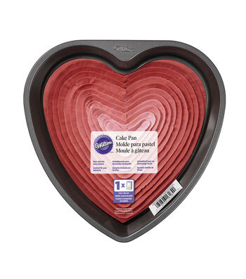 "Wilton 9"" Non-Stick Cake Pan-Heart"