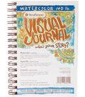 Strathmore Visual Journal Watercolor 5.5\u0022X8\u0022-22 Sheets