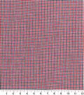 Homespun Cotton Fabric 44\u0022-Red & Blue Cross Square