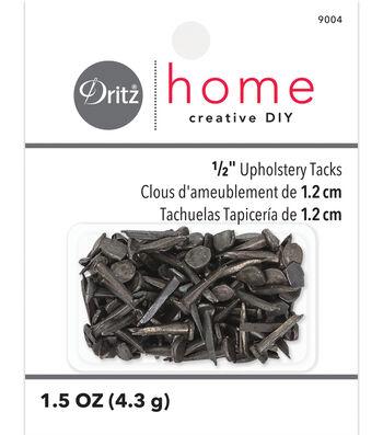 "Dritz 0.5"" Number 6 Upholstery Steel Tacks 2oz"