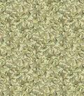 Premium Cotton Fabric-Hydrangea Leaves