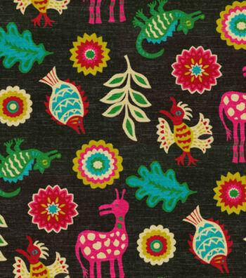 """Waverly Lightweight Decor Fabric 54""""-Mexicali/Desert Flower"""