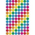 Colorful Smiles superSpots Stickers 800 Per Pack, 12 Packs