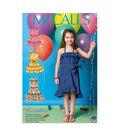 McCall\u0027s Pattern- M7147-CL0  Girls\u0027 Dresses and Belt-6-7-8