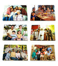Multi-Cultural Family Puzzle Set of 6