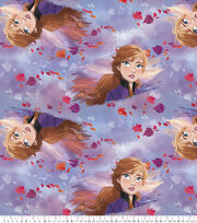Disney Frozen Fleece Fabric-Anna Spirits Of Nature, , hi-res