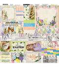 BoBunny Cottontail 12\u0027\u0027x12\u0027\u0027 Cardstock Combo Stickers