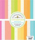 Doodlebug Design Sweet Summer Petite Print 12 pk Double-sided Cardstock