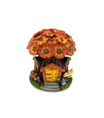 Simply Autumn Littles Orange Flower House