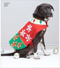 Simplicity Pattern 8277 Fleece Dog Coats & Hats-Size A (S-M-L)
