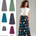 Simplicity Patterns Us1069P5-Simplicity Misses\u0027 Wide Leg Pants/Shorts/Skirts/In 2 Lengths-12-14-16-18-20