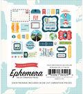 Echo Park Paper Co Ephemera Cardstock Die Cut Pieces-Go See Explore