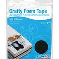 Scrapbook Adhesives Crafty Foam Tape Roll-Black