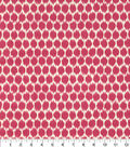 Home Decor 8\u0022x8\u0022 Fabric Swatch-Waverly Seeing Spots Jazzberry