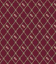 College Teams Florida State Seminoles Cotton Fabric 44''-Trellis, , hi-res