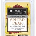 Hudson 43 Candle & Light 6 pk Spiced Pear Premium Satin Wax Melts