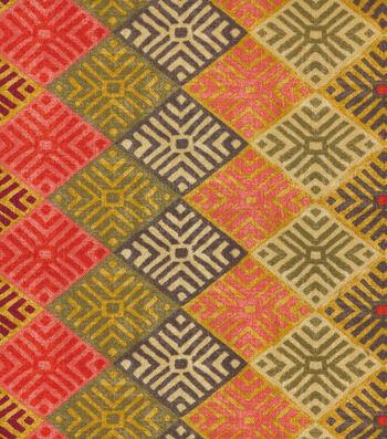 "Waverly Lightweight Decor Fabric 54""-Four Corners/Adobe"