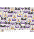 Novelty Cotton Fabric-Linear Butterfly