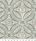 Kelly Ripa Home Outdoor Fabric 9\u0022x9\u0022 Swatch-Blissfulness Pewter
