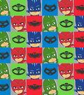 Disney Junior PJ Masks Fleece Fabric 59\u0027\u0027-Characters